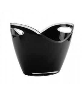 Cubo Enfriabotellas Negro de Lacor