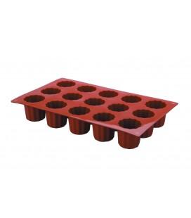 Molde Silicona Mini Bordelais 18 Cavidades de Lacor