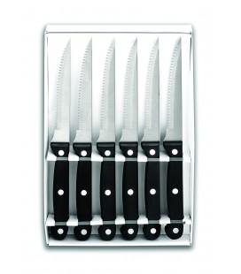 Set 6 Cuchillos Chuleteros Micro dentado de Lacor