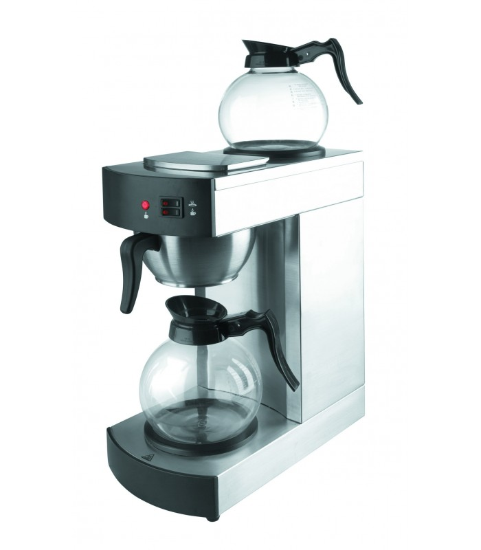 Glass Jug For Coffee Maker : Coffee maker with 2 jugs glass of LACOR