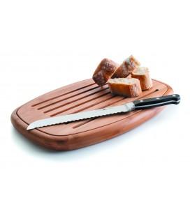 Tabla de corte de pan oval de Lacor