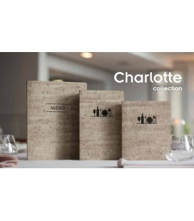 Portamenú Charlotte de Lacor