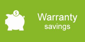warranty savings