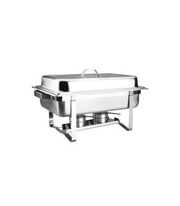 Couvercle en acier inoxydable de Gastronorm Lacor bain-marie 1/1