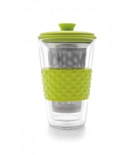 Vaso de té con filtro de Ibili