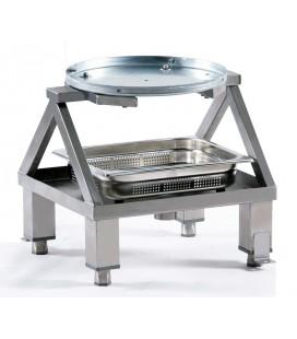Soporte acero inox. peladora PL-400