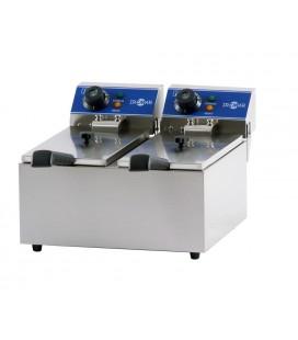Freidora eléctrica de sobremesa FRY-4+4