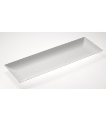 Plato Komodo rectangular 270mm de Effimer (400 uds.)