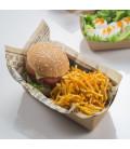 """Food truck bio trays Kraft.""""XL"""". 1200 ml."""