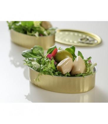 Lata oval sardinas. 150 ml.