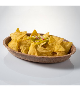 Plato oval de salvado de trigo Especial K de Effimer (100 uds.)