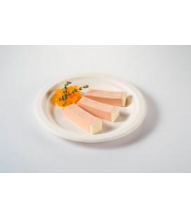 Plato de caña de azúcar redondo 230mm Dana de Effimer (800 uds.)
