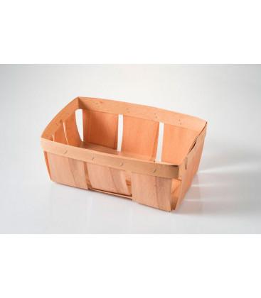 Cesta de madera pequeña Picnic de Effimer (144 uds.)