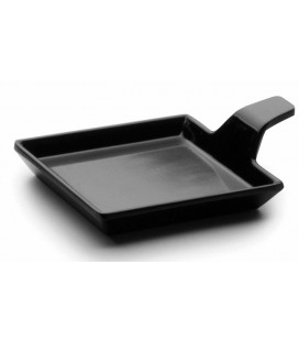 Tray Delicatessen Black melamine Lacor Classic series