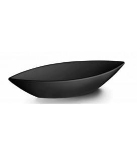 Oval fountain Black melamine Lacor Classic series