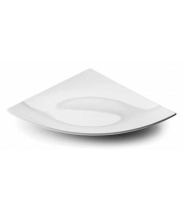 Fuente triangular White melamina serie Classic de Lacor