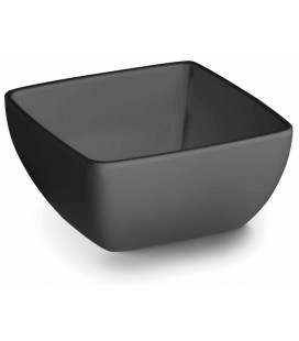 Bowl salad Black melamine Lacor Classic series