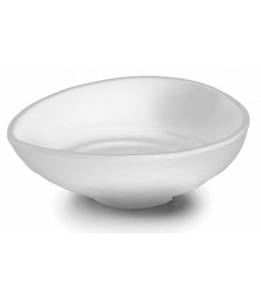 Série de mélamine alimentation rond blanc de Lacor