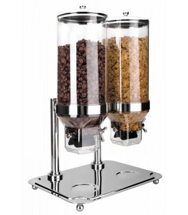 Lacor-based cereals double dispenser