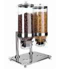 Lacor-based cereals double dispenser