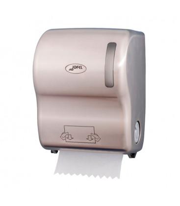 Dispensador de papel autocortante niquelado de Jofel