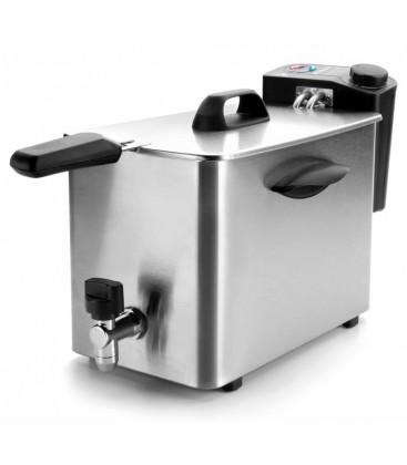 Friteuse 4 L puissance 2500 W, avec robinet de Lacor