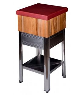 Tajo de madera con soporte de madera de Tajos Herráiz