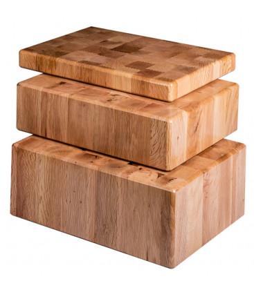 Taco de madera para mostrador de Tajos Herráiz