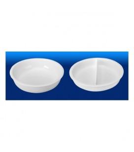 Insérer la porcelaine rond réchaud