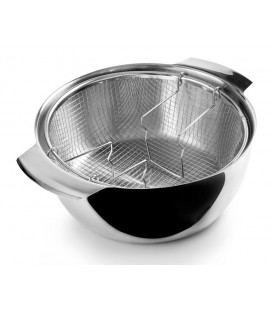 Frying pan with basket by Ibili