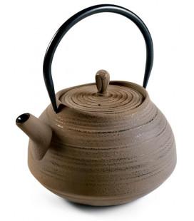 Tetera de hierro fundido Sakai de Ibili