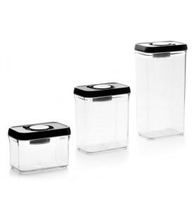 Envase de vacío apilable 10x15 de Ibili