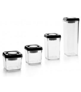 Envase de vacío apilable 10x10 de Ibili