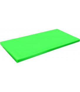 Tabla Corte Polietileno Hd 600x400 Verde de Lacor
