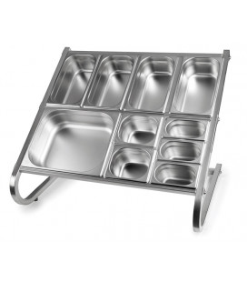 Gastronorm cuvette support by Lacor