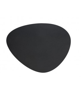 Round leather placemat by Lacor