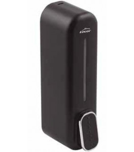 Black hand dispenser for gel and soap by Lacor
