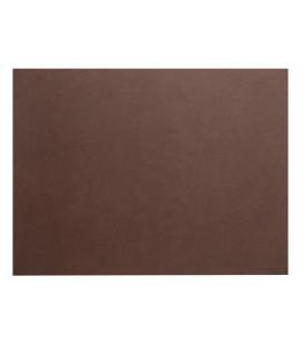 Mantel individual rectangular de cuero reciclado de Lacor