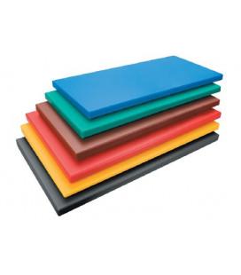 Cutting board polyethylene Hd Gastronorm 1/4 red by Lacor