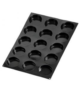 Molde silicona BLACK semiesférico 60 cavidades de Lacor