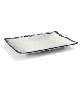 Fuente rectangular de melamina serie Sea de Lacor