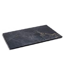 Bandeja rectangular de melamina serie Stone de Lacor