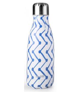 Botella termo inoxidable Zigzag de Ibili