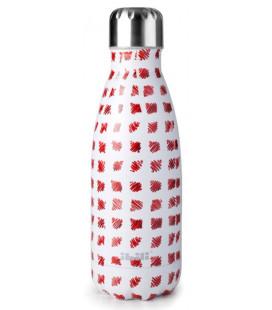 Botella termo inoxidable Mosaic Lemon de Ibili