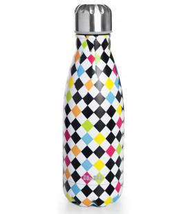 Botella termo inoxidable Arlequin de Ibili
