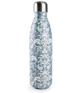 Botella termo inoxidable Symbol Blue de Ibili