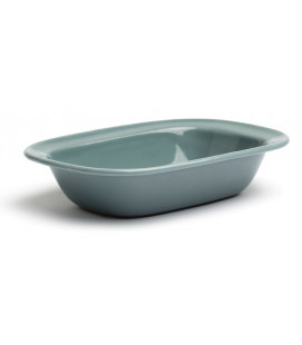 Rectangular enamelled iron bowl PELTRE by Comas (12 u)