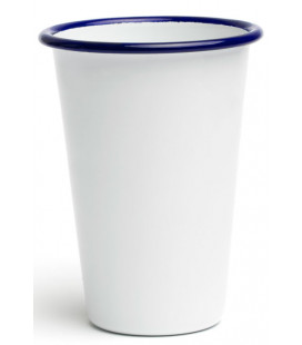 Enamelled tall cup PELTRE by Comas (12 u)