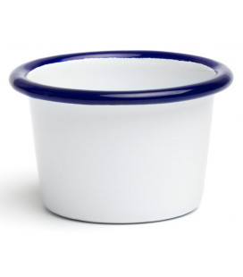 Enamelled dipping cup PELTRE by Comas (12 u)