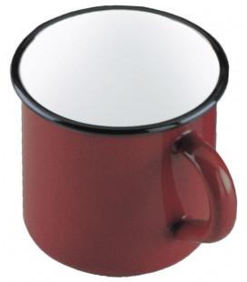 Enamelled red coffee pot by Ibili (6 u)